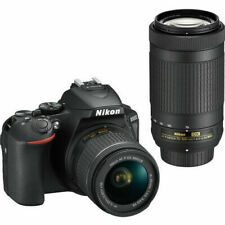 Nikon D5600 DSLR Camera with 18-55mm f/3.5-5.6G VR and 70-300mm f/4.5-6.3G Lens