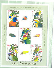 Australia-Parrots-Special min sheet limited printing mnh