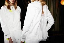 Nike Nikelab Women's Sacai Tech Fleece Sweatshirt Crew (744608-100) XLARGE