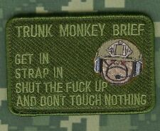 AFSOC JTAC AC-130 SPECTER GUNSHIP FU©K-the-NEWBIE vel©®😎 SSI Trunk Monkey Brief