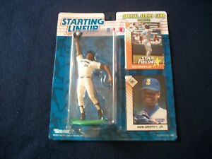 KEN GRIFFEY JR. STARTING LINEUP Collectibles Figure with Special Series Card New