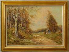 Hilbert JENSEN *1911 » Romantische Landschaft «