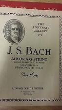 JS Bach: 6 Selected Pieces: Music Score (J5)