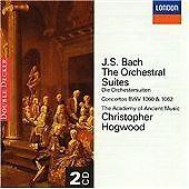 Johann Sebastian Bach - Bach: The Orchestral Suites (Hogwood) (2CD 1998)