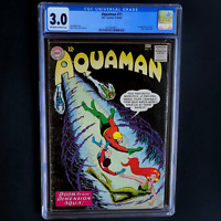 AQUAMAN #11 (DC 1963) 🔥 CGC 3.0 OW-W 🔥 1ST APPEARANCE OF MERA! KEY