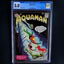 AQUAMAN #11 (DC 1963) 🔥 CGC 3.0 OW-W 🔥 1ST APPEARANCE OF MERA! KEY