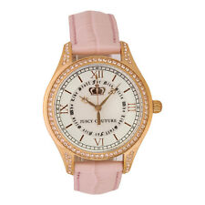 Juicy Couture Lively Pink Gold Silver Women's Swiss Quartz Watch 1900742