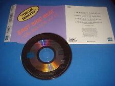 4 track maxi cd EAST SIDE BEAT / RIDE LIKE THE WIND / THE UK MEMIXES / APR 1991