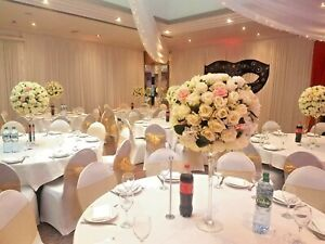 Large Flower Ball on Martini Vase, Centerpiece *HIRE ONLY* Wedding Event