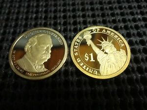 2012-S  Proof Grover Cleveland  Presidential Dollar 24th