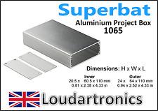 Proyecto De Aluminio Caja Caja caso electrónica hágalo usted mismo-1065