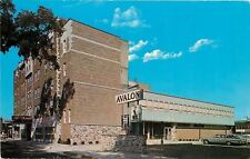 Waukesha Wisconsin~Avalon Motor Hotel Downtown~Coffee Shop~Steak House~1960s PC