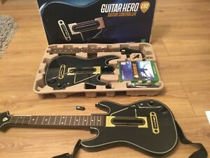 Guitar Hero Live Party Bundle Xbox One 2xGuitars 2xDongles 2xStraps & Game,