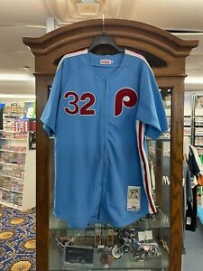 Mitchell & Ness Cooperstown Collection 1980 Phillies Steve Carlton Jersey - 52