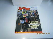 Bike Magazine UK  MAR 1986 - DISPACH RIDERS - HARLEY