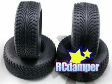 FRONT+REAR STREET MEATS ROAD TIRE TYRE AXIAL EXO SHORT COURSE TRUCK 2.2 3.0 LOSI