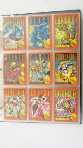 X-Men Series 2 set of 100 cards, 4 holograms & 9 gold embossed cards1993 Sybox