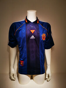 Spain Away Shirt 1999-2000 Adidas Size M (Excellent)