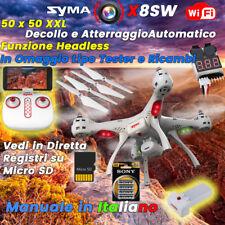 Syma X8SW 2.4G 6Axis Gyro One Key Landing WIFI FPV HD Camera RC Quadcopter Drone