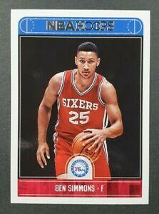 BEN SIMMONS 2017-18 NBA Hoops #2 ROTY All Star Panini 🏀