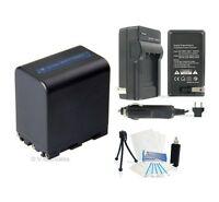 NP-FM90 Battery+Charger for Sony CCD-TRV108 TRV118 TRV128 DCD100 DVD301