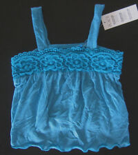 NWT: New 6-9 Month Children's Place Blue Lace Sleeveless Shirt