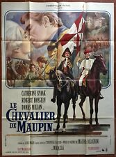 Affiche LE CHEVALIER DE MAUPIN Bolognini ROBERT HOSSEIN Catherine Spaak 120x160*