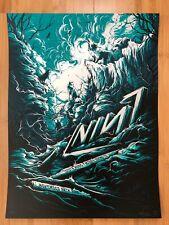 Nine Inch Nails Nin Irving Tx 11/28 2018 Ap Foil Poster Dan Mumford S/N xx/12