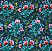 *OOP CAMEO -Josephine's Bouquet Ink by Amy butler, F/Q or YRD , quilting fabric
