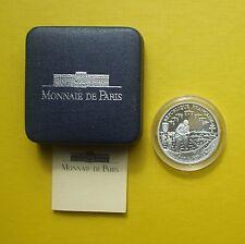 """COFFRET 1 FRANC ARGENT 1993  """"50 EME ANNIVERSAIRE DU DÉBARQUEMENT ALLIE""""  (d37)"""