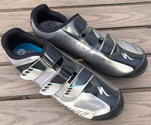 Specialized Body Geometry Sport MTB Mens Cycling Shoes Cleats 10.5 10 1/2 *FLAW*