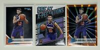 Lot of (3) 2019-20 Donruss Rated Rookie Orange Laser 222 Ty Jerome RC Suns Great