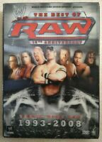 The Best Of RAW: 15th Anniversary - 3-Disc Wrestling DVD Set - WWE Home Video