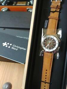 Christopher Ward C65 Super Compressor Watch - Black Sand - Discontinued Error