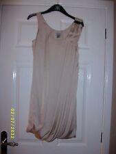 """Ladies Beige Sleeveless Top Size 32"""" from H & M"""