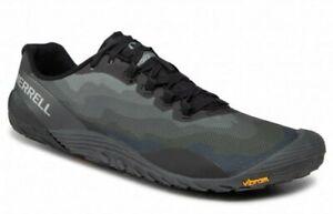 NEW Men's SZ 9, MERRELL Vapor Glove 4 Minimalist. J50395 BLACK /  GREY