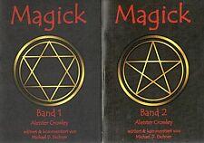 MAGICK Band 1 & 2  Mystik und Magie - Aleister Crowley - Kersken-Canbaz 2 x BUCH