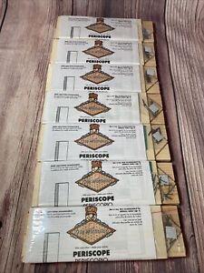 Home Depot Periscope Kit Kids Workshop Homeschool Wooden Retired Lot of 7 Sealed