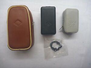 Drei Mini-Blitzgeräte für Birnen von Agfa (2) & ticky plus in gutem Zustand