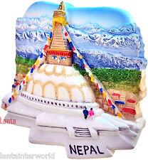 Boudhanath Stupa Buddhist Temple Kathmandu NEPAL Refrigerator 3D Fridge Magnet