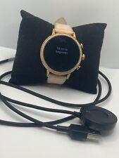 Fossil Gen 4 FTW6011 Women's Sand Leather Digital Dial Genuine Smart Watch KL388