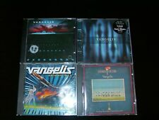 4 CDs Vangelis The City, Geatest Hits,Chariots Of Fire, Voices Henry Maske WM