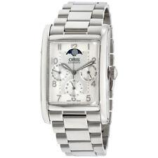 Oris Rectangular Complication Stainless Steel Men's Watch 58276944061Mb