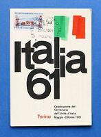 Cartolina Commemorativa - Celebrazione Centenario Unità d'Italia - 1961.