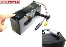 ENERpower Akku Li-Ion 24V (7x3) 6,6Ah V3 Golf Caddy Pedelec XLR LED+Ladegerät 2A