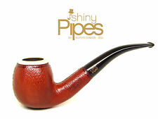 Hilson BLOCK MEERSCHAUM Leather Wrapped BRIAR Bent Estate Pipe AWESOME - 5