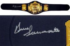 Bruno Sammartino Autographed Signed Jakks Heavyweight Champ Belt ASI Proof