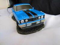 Ford Falcon GTHO Blue Blaze Scale Model NewinBox Fact 2nd Damaged Chipped Blinke