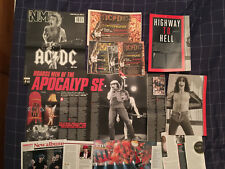 AC/DC - ARTICLES / PHOTOS - CLIPPINGS / CUTTINGS COLLECTION