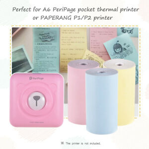 Thermal Paper Roll 57*30mm Receipt Printing for PeriPage A6 Thermal Printer
